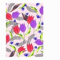 Floral Paradise Small Garden Flag (two Sides)