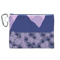 Distance Dreams Canvas Cosmetic Bag (xl)