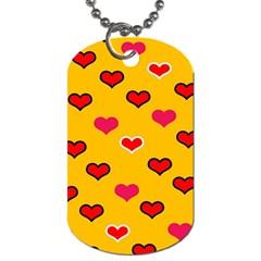 Lemony Love Dog Tag (one Side)