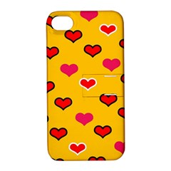 Lemony Love Apple Iphone 4/4s Hardshell Case With Stand