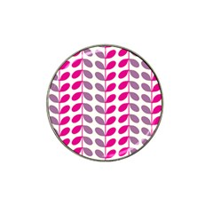 Pink Waves Hat Clip Ball Marker