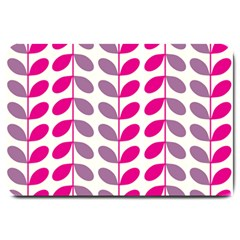 Pink Waves Large Doormat