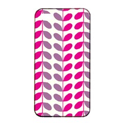 Pink Waves Apple Iphone 4/4s Seamless Case (black)