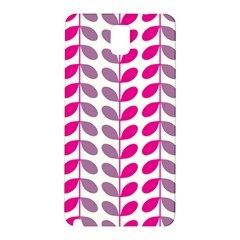 Pink Waves Samsung Galaxy Note 3 N9005 Hardshell Back Case