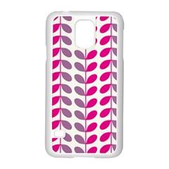 Pink Waves Samsung Galaxy S5 Case (white)