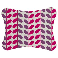 Pink Waves Jigsaw Puzzle Photo Stand (bow)