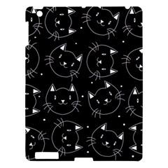 Halloween Black Cats Apple Ipad 3/4 Hardshell Case