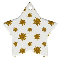 Graphic Nature Motif Pattern Ornament (star)