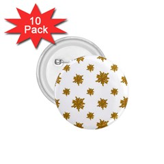 Graphic Nature Motif Pattern 1 75  Buttons (10 Pack)