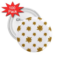 Graphic Nature Motif Pattern 2 25  Buttons (100 Pack)