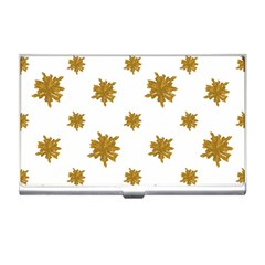 Graphic Nature Motif Pattern Business Card Holders