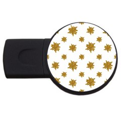 Graphic Nature Motif Pattern Usb Flash Drive Round (2 Gb)