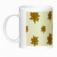 Graphic Nature Motif Pattern Night Luminous Mugs