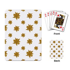 Graphic Nature Motif Pattern Playing Card