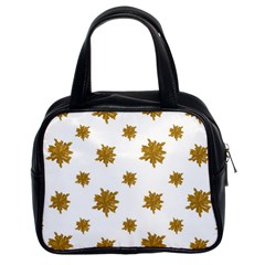 Graphic Nature Motif Pattern Classic Handbags (2 Sides)