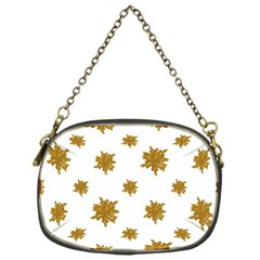 Graphic Nature Motif Pattern Chain Purses (one Side)