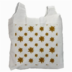 Graphic Nature Motif Pattern Recycle Bag (two Side)