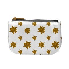 Graphic Nature Motif Pattern Mini Coin Purses