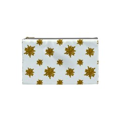 Graphic Nature Motif Pattern Cosmetic Bag (small)