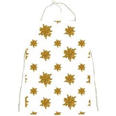 Graphic Nature Motif Pattern Full Print Aprons