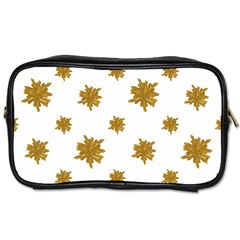 Graphic Nature Motif Pattern Toiletries Bags