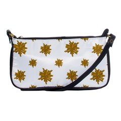 Graphic Nature Motif Pattern Shoulder Clutch Bags
