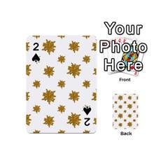 Graphic Nature Motif Pattern Playing Cards 54 (mini)