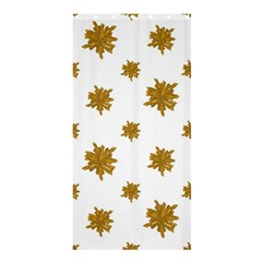 Graphic Nature Motif Pattern Shower Curtain 36  X 72  (stall)