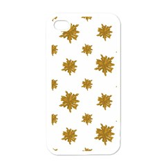 Graphic Nature Motif Pattern Apple Iphone 4 Case (white)