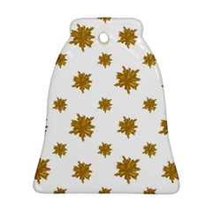 Graphic Nature Motif Pattern Ornament (bell)
