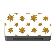 Graphic Nature Motif Pattern Memory Card Reader With Cf