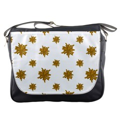 Graphic Nature Motif Pattern Messenger Bags