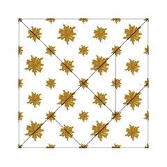 Graphic Nature Motif Pattern Acrylic Tangram Puzzle (6  X 6 )