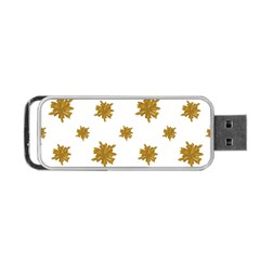 Graphic Nature Motif Pattern Portable Usb Flash (one Side)