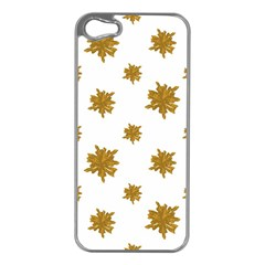 Graphic Nature Motif Pattern Apple Iphone 5 Case (silver)