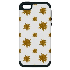 Graphic Nature Motif Pattern Apple Iphone 5 Hardshell Case (pc+silicone)