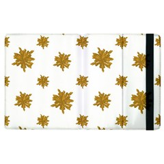 Graphic Nature Motif Pattern Apple Ipad 3/4 Flip Case