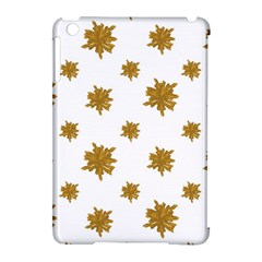 Graphic Nature Motif Pattern Apple Ipad Mini Hardshell Case (compatible With Smart Cover)