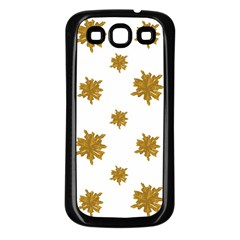 Graphic Nature Motif Pattern Samsung Galaxy S3 Back Case (black)