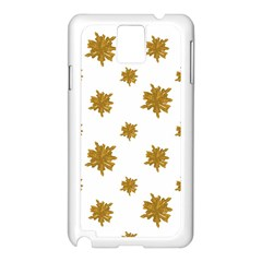 Graphic Nature Motif Pattern Samsung Galaxy Note 3 N9005 Case (white)