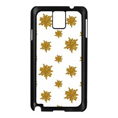 Graphic Nature Motif Pattern Samsung Galaxy Note 3 N9005 Case (black)