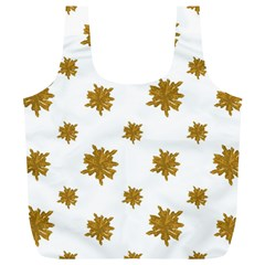 Graphic Nature Motif Pattern Full Print Recycle Bags (l)