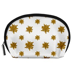 Graphic Nature Motif Pattern Accessory Pouches (large)