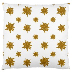 Graphic Nature Motif Pattern Large Flano Cushion Case (two Sides)