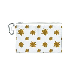 Graphic Nature Motif Pattern Canvas Cosmetic Bag (s)