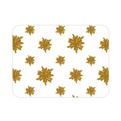 Graphic Nature Motif Pattern Double Sided Flano Blanket (mini)