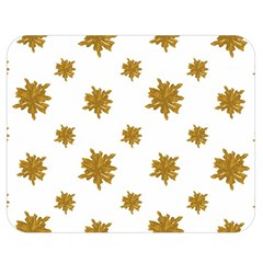 Graphic Nature Motif Pattern Double Sided Flano Blanket (medium)