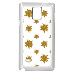 Graphic Nature Motif Pattern Samsung Galaxy Note 4 Case (white)