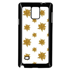 Graphic Nature Motif Pattern Samsung Galaxy Note 4 Case (black)