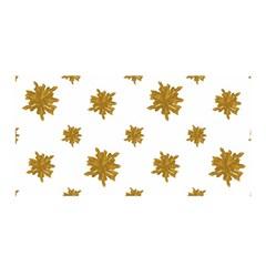 Graphic Nature Motif Pattern Satin Wrap